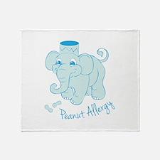 Peanut Allergy Throw Blanket