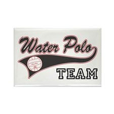 Water Polo Rectangle Magnet
