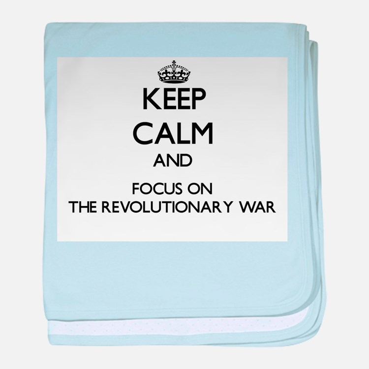 Keep Calm by focusing on The Revoluti baby blanket