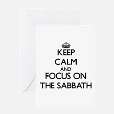 Keep Calm by focusing on The Sabbat Greeting Cards