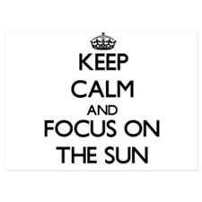 Keep Calm by focusing on The Sun Invitations