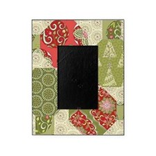 Christmas Quilt Pattern Picture Frame