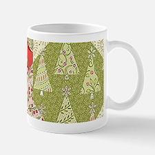 Christmas Quilt Pattern Mugs