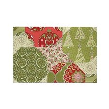 Christmas Quilt Pattern Magnets