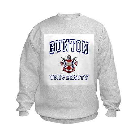 BUNTON University Kids Sweatshirt