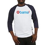 Obama for Peace Baseball Jersey