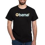 Obama for Peace Black T-Shirt