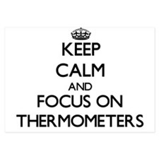 Keep Calm by focusing on Thermometers Invitations