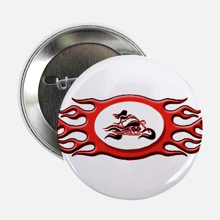 Biker Chick - Red Button