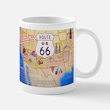 Unique Classic retro 66 route highway travel Mug