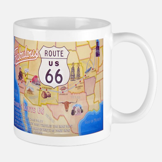Unique Route 66 Mug