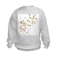 Falling Autumn Leaves Sweatshirt
