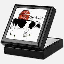 Cow Crazy! Keepsake Box