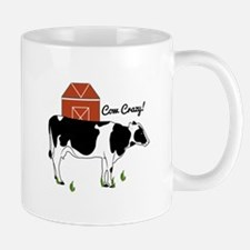 Cow Crazy! Mugs
