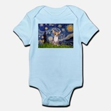 Starry Night Chihuahua Infant Bodysuit