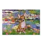 Lilies (2) & Chihuahua Postcards (Package of 8)
