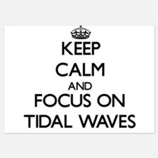 Keep Calm by focusing on Tidal Waves Invitations