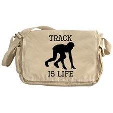 Track Is Life Messenger Bag