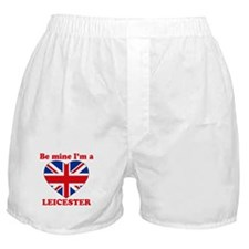 Leicester, Valentine's Day Boxer Shorts