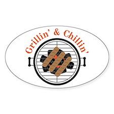 Grillin' & Chillin' Decal