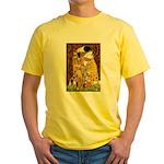 The Kiss & Chihuahua Yellow T-Shirt
