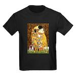 The Kiss & Chihuahua Kids Dark T-Shirt