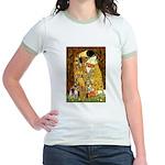 The Kiss & Chihuahua Jr. Ringer T-Shirt