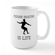 Figure Skating Is Life Mugs