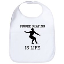Figure Skating Is Life Bib
