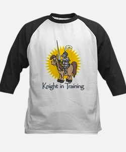 """Knight in Training"" Kids Baseball Jersey"