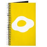 Fried egg Journals & Spiral Notebooks
