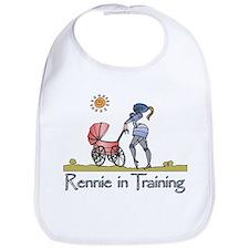 """""""Rennie in Training"""" Bib"""