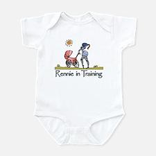 """""""Rennie in Training"""" Infant Bodysuit"""