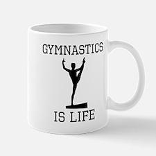 Gymnastics Is Life Mugs