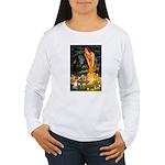 Fairies & Chihuahua Women's Long Sleeve T-Shirt