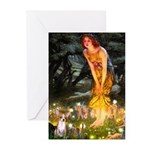 Fairies & Chihuahua Greeting Cards (Pk of 10)