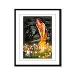 Fairies & Chihuahua Framed Panel Print
