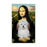 Mona's Coton de Tulear Sticker (Rectangle)