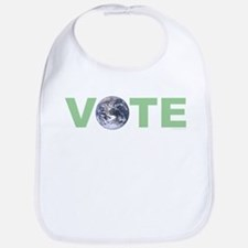 Vote Green Bib