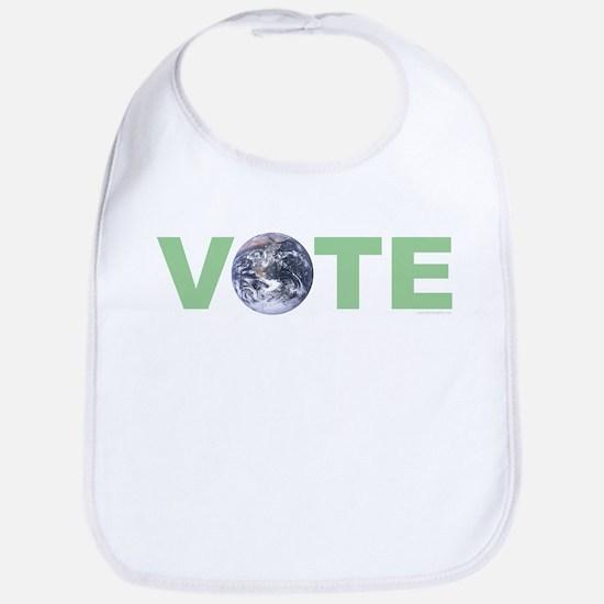 Vote Green Bib