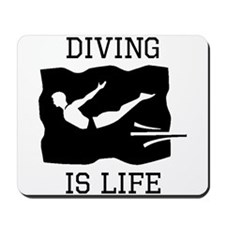 Diving Is Life Mousepad