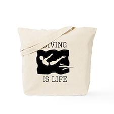Diving Is Life Tote Bag