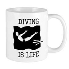 Diving Is Life Mugs