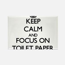 Keep Calm by focusing on Toilet Paper Magnets