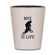BMX Is Life Shot Glass