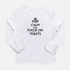 Keep Calm by focusing on Toile Long Sleeve T-Shirt