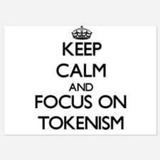 Keep Calm by focusing on Tokenism Invitations