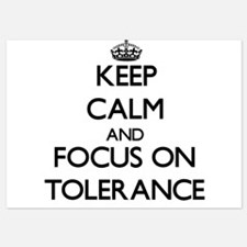 Keep Calm by focusing on Tolerance Invitations
