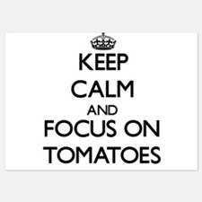 Keep Calm by focusing on Tomatoes Invitations