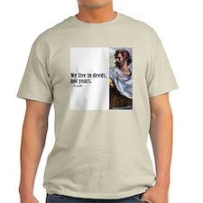 "Aristotle ""Deeds"" T-Shirt"